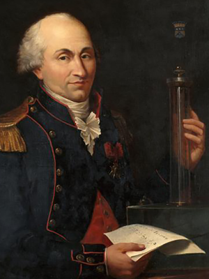 Figura 1 - Charles Augustin de Coulomb.