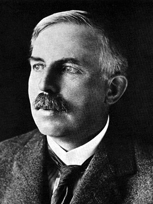 Figura 1 - Ernest Rutherford.